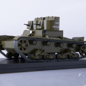T-26.Tank.Light Tank.Modely tanku.Diecast models tanks.MODIMIO Collections NT013.