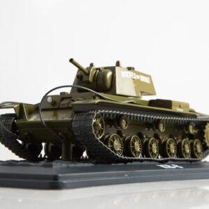 KV-8 Flamethrower Tank.Modely tanků.Sběratelské.Hotové.Kovové.Diecast models tanks.MODIMIO Collections NT020.