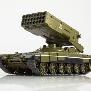 TOS-1.Heavy Flamethrower System.TOS-1A.Солнцепёк.Solntsepyok.Blazing Sun.Modely vojenské techniky.tanku.Diecast models military vehicles.tanks.MODIMIO Collections NT021.