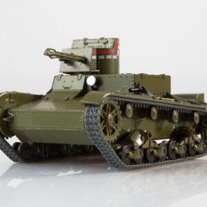 KhT-26 (OT-26).Flamethrower Tank.T-26.Tank.Light Tank.Modely tanku.Diecast models tanks.MODIMIO Collections NT023.