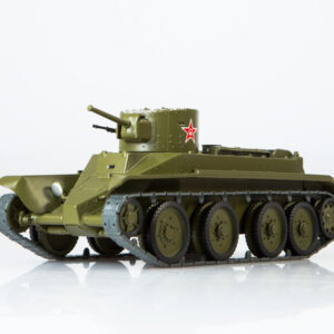 BT-2.Tank.BT-2 Fast.Light Tank.Modely tanku.Diecast models tanks.MODIMIO Collections NT025.