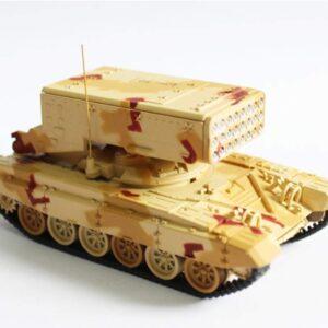 TOS-1A Heavy Flamethrower System.Modely vojenské techniky.Diecast models military vehicles.Panzerkampf PAN12138.