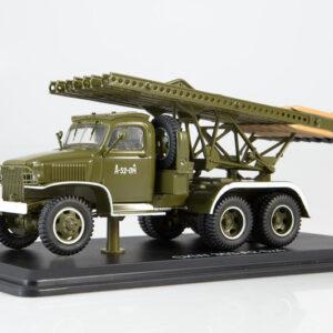 BM-13 Katyusha.Rocket Launcher.GMC CCKW.Modely vojenské techniky.Diecast models military vehicles.tanks.Start Scale Models SSM1376.