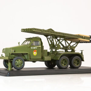 BM-13 Katyusha.Rocket Launcher.Studebaker US6.Modely vojenské techniky.Diecast models military vehicles.tanks.Start Scale Models SSM1378.