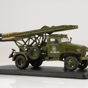 BM-13 Katyusha.Rocket Launcher.Chevrolet-G7107.Modely vojenské techniky.Diecast models military vehicles.tanks.Start Scale Models - SSM1374.