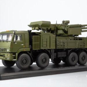 Pantsir-S1.SA-22 Greyhound Missel System.KAMAZ-6560.Modely vojenské techniky.Diecast models military vehicles.Start Scale Models SSM1385