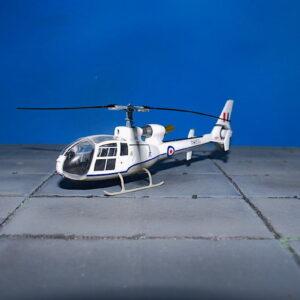 Westland Gazelle HCC.4.Aérospatiale Gazelle SA 341E.Modely vrtulníku.Diecast models helicopters.Aviation 72 AV-72-24-001.