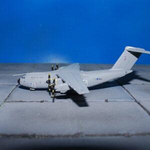 Airbus A400M Atlas.Modely dopravních letadel.Diecast models airplanes.airliner.Gemini Jets GMRAF091.