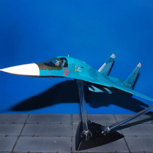 Su-34.Sukhoi Su-34 Fullback.Modely letadel.Diecast models aircraft.Hobby Master HA6303B. Modely vrtulníků. Diecast models helicopters. Diecast models cars. Modely vojenské techniky. Diecast models military vehicles. Modely raket. Diecast models rockets. Sběratelské modely. Hotové modely. Sběratelské modely letadel. Kovové modely.