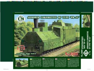 "UMmt 680-Armored locomotive of type ""PR-43"""
