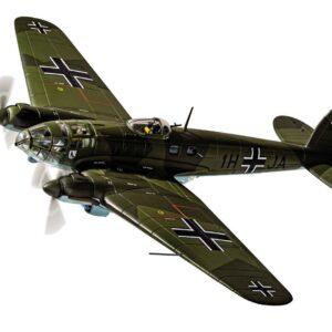 """Heinkel He-111H-2 , '1H+JA' Stab./KG26 (Kampfgeschwader 26 (KG 26) """"Löwengeschwader""""), 28th October 1939, 'The Humbie Heinkel'.Corgi AA33717."""