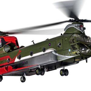"Boeing Chinook HC.4 , 'ZA712' No.18(B) Squadron RAF ""100 Years"".Corgi AA34215."