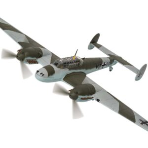 Messerschmitt Bf 110D , 'VJ+OQ' Rudolf Hess , Eaglesham, Scotland, 10th May 1941.Corgi AA38509.