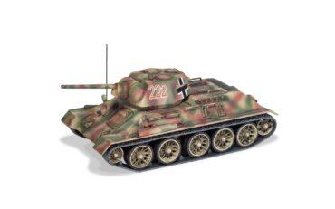 Beute Panzer (Trophy Tank)-T34/76 Model 1943 , '222' Panzerjager Abteilung 128 , 23rd Panzer Division , Eastern Front Ukraine 1943.Corgi Military Legends CC51606.