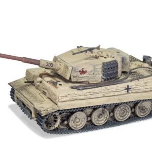 Pz.Kpfw.VI Tiger Ausf.E (Sd.Kfz.181 Late prod.) , sPz.Abt.505 Wehrmacht , Eastern Front , Summer 1944 , Russia on the offensive.Corgi Military Legends CC60514.