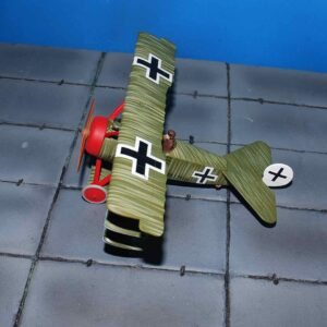 Fokker DR.1 Triplane , Wolfram Freiherr von Richthofen , 21st April 1918 , Death of the Red Baron.Corgi AA38310.