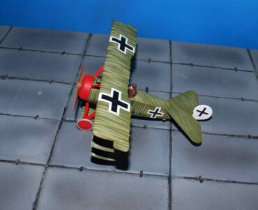 Fokker DR.1 Triplane , Wolfram Freiherr von Richthofen , 21st April 1918 , Death of the Red Baron.Corgi AA38310.