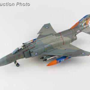 "McDonnell Douglas F-4E Phantom II , '01507' ""God of War"" 338 Sqn. Hellenic Air Force 2019.Hobby Master HA19016."