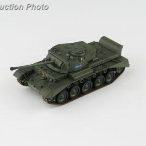 "A34 Comet British Cruiser Tank , 'T335293' ""Arrogant"" Queens Own Hussars , Berlin Brigade 1960.Hobby Master HG5908."