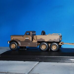M20 Diamond T Model 980 truck / M19 Tank Transporter , 1st Canadian Armoured Brigade , Italy 1943.Oxford Military 76DT002.