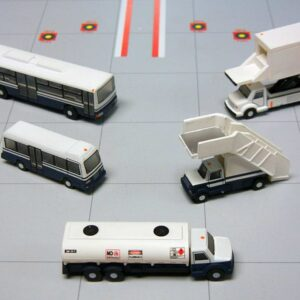 Airport.Service Support VehiclesGSE.Ground Support Equipment.Set.Emirates.Modely dopravních letadel.Diecast models airplanes.airliner.Gemini Jets G2APS450.