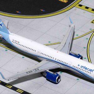 Airbus A321S (Sharklets) , 'XA-GEO' InterJet.Gemini Jets GJAIJ1703.