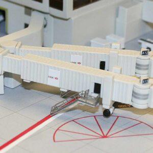 Airbridge Set 2 - Airport Service GSE (Ground Support Equipment).Gemini Jets GJARBRDG2.