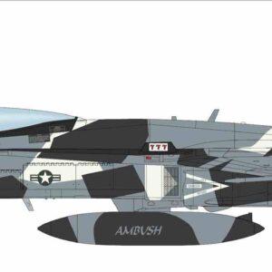 "McDonell Doulgas F/A-18A+ Hornet , '162841' VFC-12 ""Fighting Omars""(Fighter Sqn. Composite Twelve) U.S. Navy Reserve (USNR) 2018.Hobby Master HA3553."
