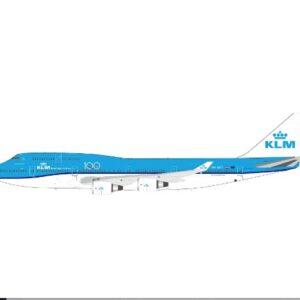 "Boeing B747 -400 , 'PH-BFT' ""City of Tokyo"" KLM Royal Dutch Airlines.Inflight 200 IFKLM747FAREWEL."