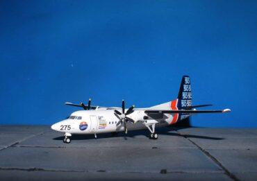 Fokker 50.F27 Mark 050.Modely dopravnich letadel.Diecast models airplanes.aircraft.JC Wings JC-LH2213.