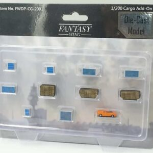 Cargo Container SET (CARGO ADD-ON SET 11 pcs.).Fantasy Wings FWDP-CG-2001.