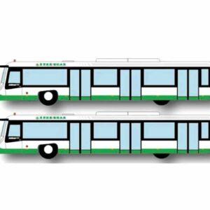 Airport Bus (EVA Air version).Fantasy Wings FWAA4006.