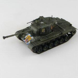M46 Patton Medium Tank , 64th Tank Battalion US Army , Imjin River 1951.Hobby Master HG3705.