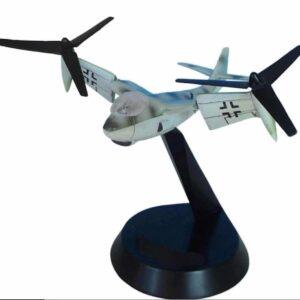 Weserflug P.1003/1 VTOL Tilt-rotor , Secret Project Luftwaffe.Innovation Aircraft IAFFW005.