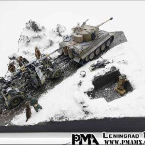 DIORAMA ( 1/72) LENINGRAD USSR 1943.PMA P0216.