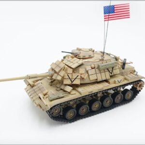"M60A1 Main Battle Tank w/reactive armor , ""SADDAMIZER"" USMC 'Operation Desert Storm'.PMA P0333."