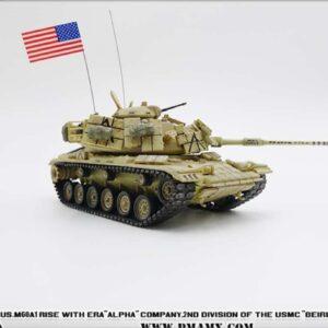 "M60A1 Main Battle Tank w/reactive armor , ""BEIRUT PAYBACK"" Alpha Company USMC 'Operation Desert Storm'.PMA P0334."