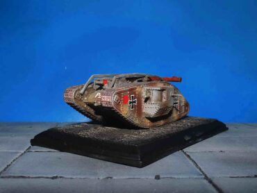 Mark Tank.Mark IV Male Beutepanzer.Modely tanků.Diecast models tanks.Wings of The Great War WW10206.