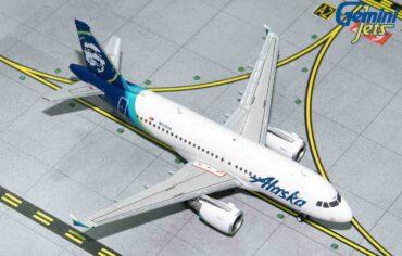 Gemini Jets GJASA1851 - AIRBUS A319 , 'N530VA' Alaska Airlines.