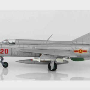 MIG-21 PFM Fishbed Mikoyan-Gurevich , '5020' Nguyen Tien Sam 927th FR Vietnam People's Air Force , 5 July 1972.Hobby Master HA0191.