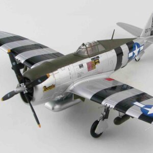 "P-47D Thunderbolt , '42-27884' ""Bonnie"" 460th FS 348th FG USAF , Philippines 1945.Hobby Master HA8458."