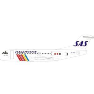 Fokker F28 -4000 Fellowship , 'SE-DGO' SAS-Scandinavian Airlines.Inflight 200 IFF28SK0720.
