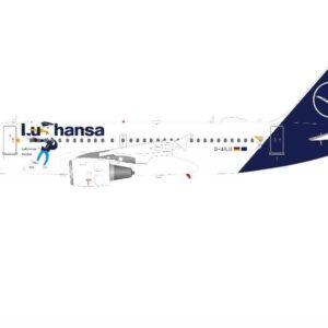 Airbus A319-114 , 'D-AILU' Lufthansa.J Fox Models JF-A319-013.