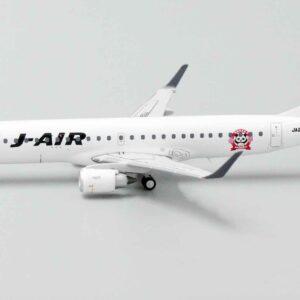 "Embraer 190 (E190) , 'JA250J' J-Air - JAL-Japan Airlines ""50th Anniversary"".JC Wings EW4190001."