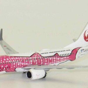 "Boeing 737- 800 , 'JA06RK' ""Sakura Jinbei Jet"" JTA-Japan Transocean Air-JAL.JC Wings EW4738002."