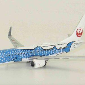 "Boeing 737- 800 , 'JA05RK' ""Sakura Jinbei Jet"" JTA-Japan Transocean Air-JAL.JC Wings EW4738003."
