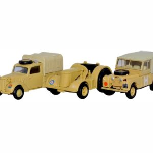 Oxford OX- 76SET23 - Tilly, David Brown Tractor And Land Rover , British Army SET