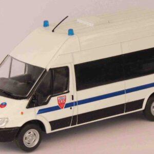 DeAgostini Police Cars - Ford Transit , CRS - National Police (France)