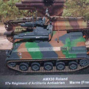 Deagostini DVT-05 - AMX-30R Roland Missile System , 57e Régiment d'Artillerie Antiaérien , Marne France 1991