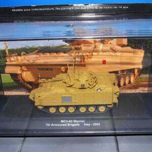 Deagostini DVT-08 - Warrior MCV-80 Mechanised Combat Vehicle , 7th Armoured Brigade British Army , Iraq - 2003